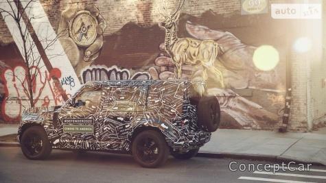 Новый land Rover . Почему такой борзый?