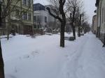 Как нужно тормозит на заторах в снегопады ?!